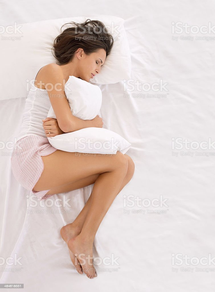 I can't handle this pain! stock photo