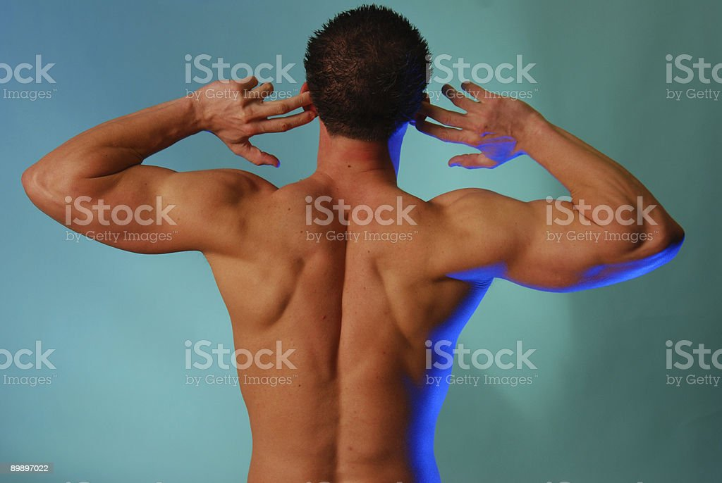 I can't hear you royalty-free stock photo