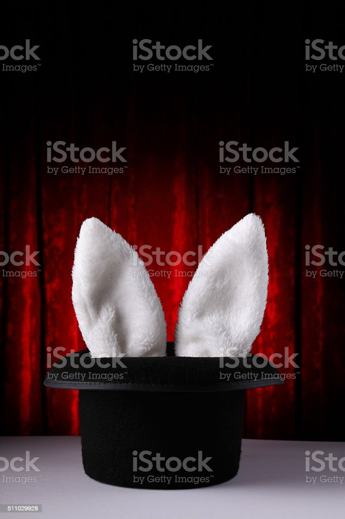 Can't hide the ears stock photo