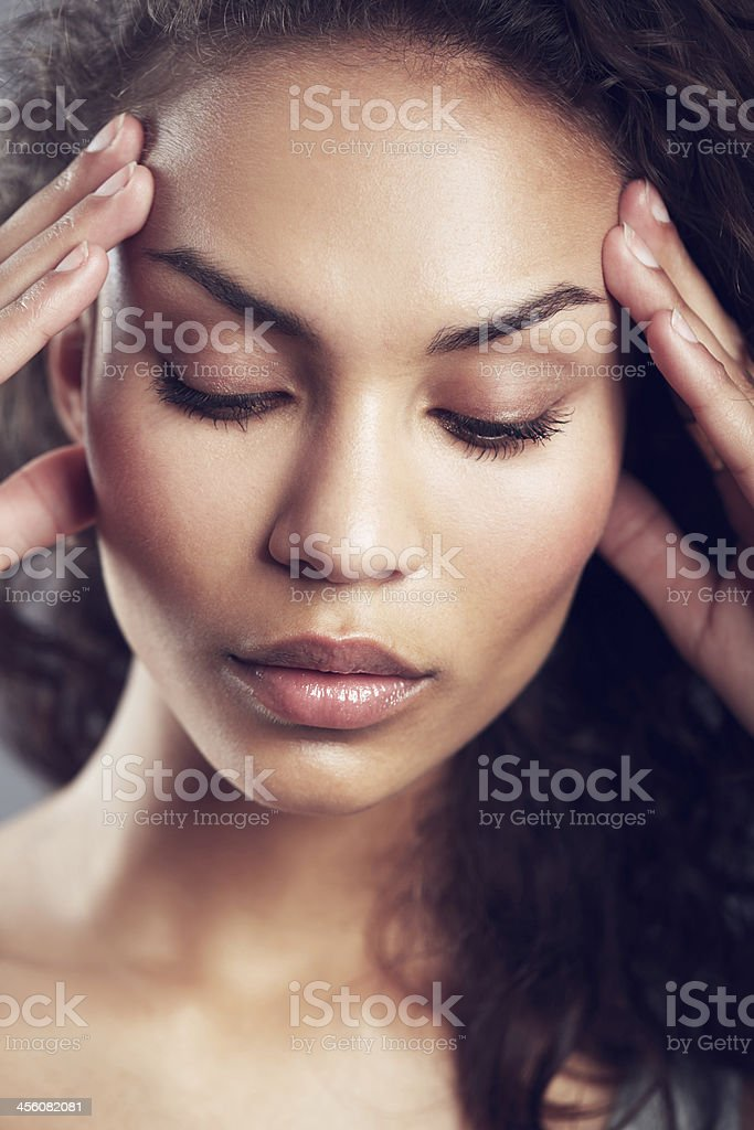 I can't stand this anymore! royalty-free stock photo