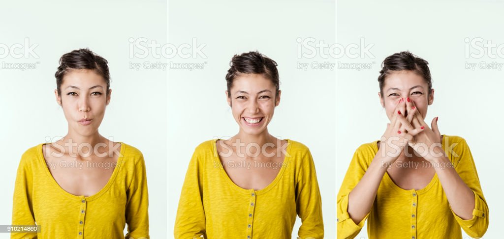 Can't Stop Laughing stock photo