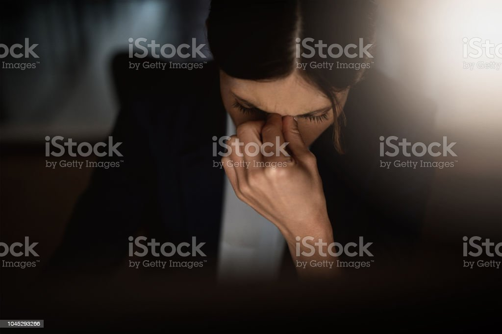 I can't take these late nights anymore stock photo