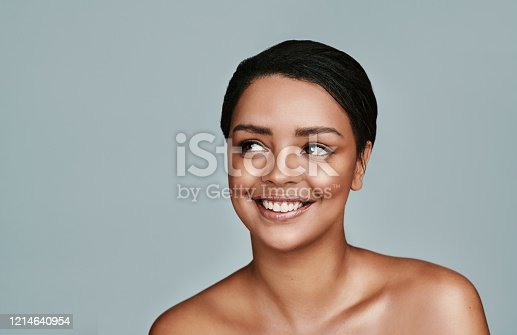 istock I can't think of anything better than having flawless skin 1214640954