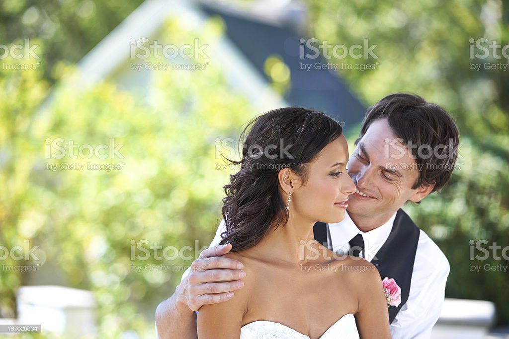 I can't wait for the honeymoon... royalty-free stock photo