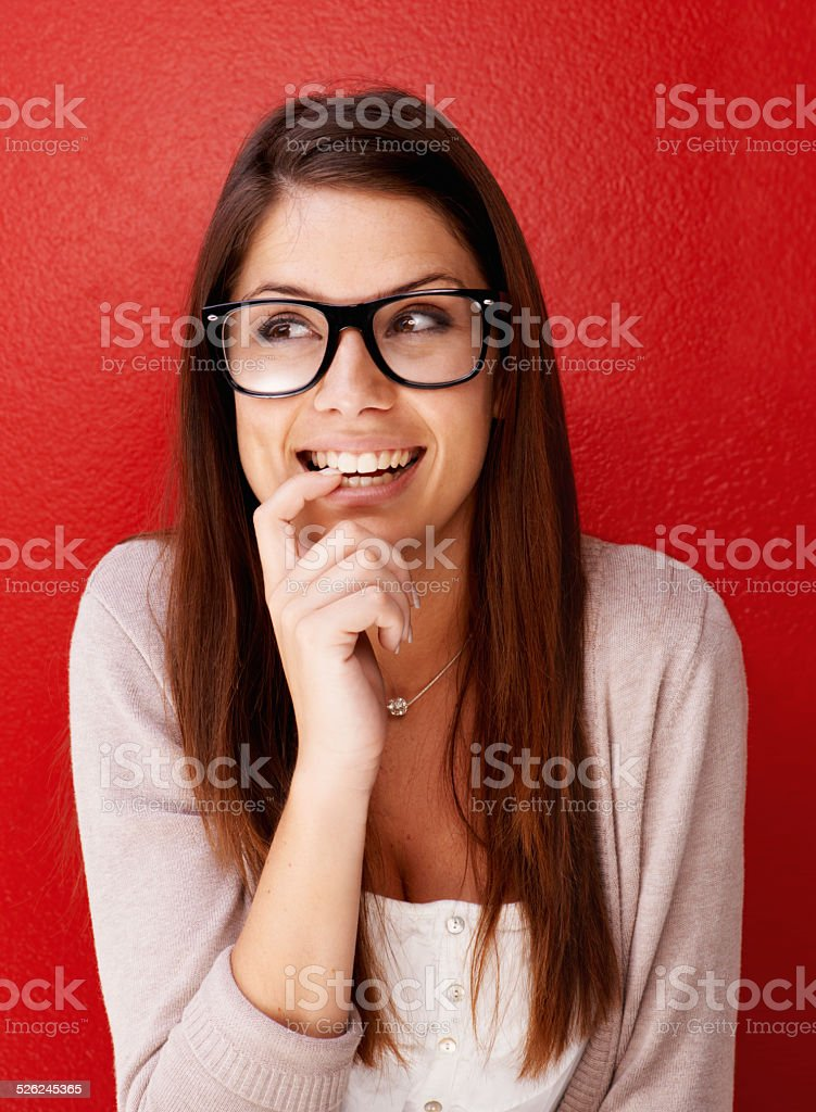 I can't wait! stock photo