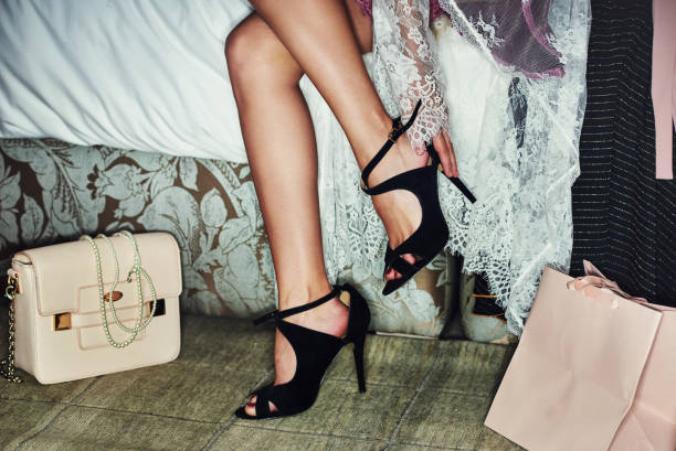 can't wait to walk in town with these - shoes fashion stock photos and pictures