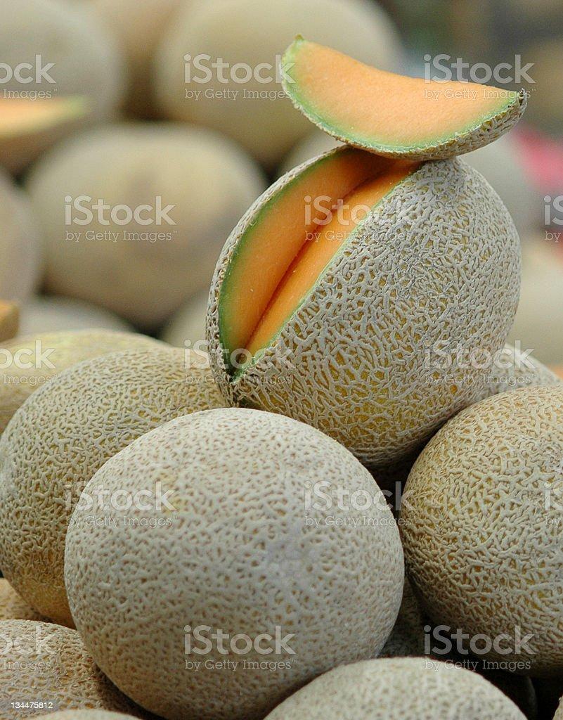 Cantaloupe [3] royalty-free stock photo