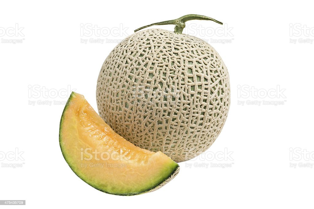 Cantaloupe Melon royalty-free stock photo