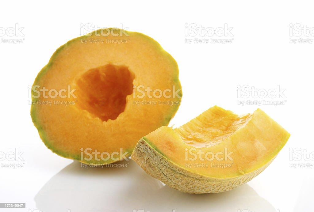 Cantaloupe royalty-free stock photo