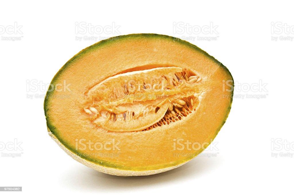 Cantaloupe. royalty-free stock photo
