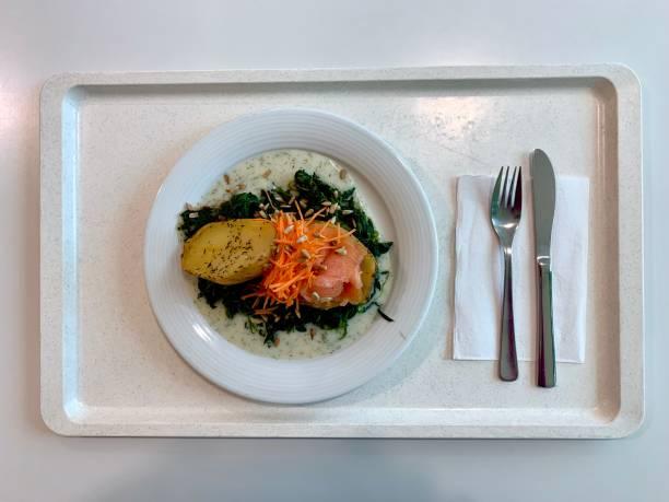 Kantinen-Kartoffellachs – Foto