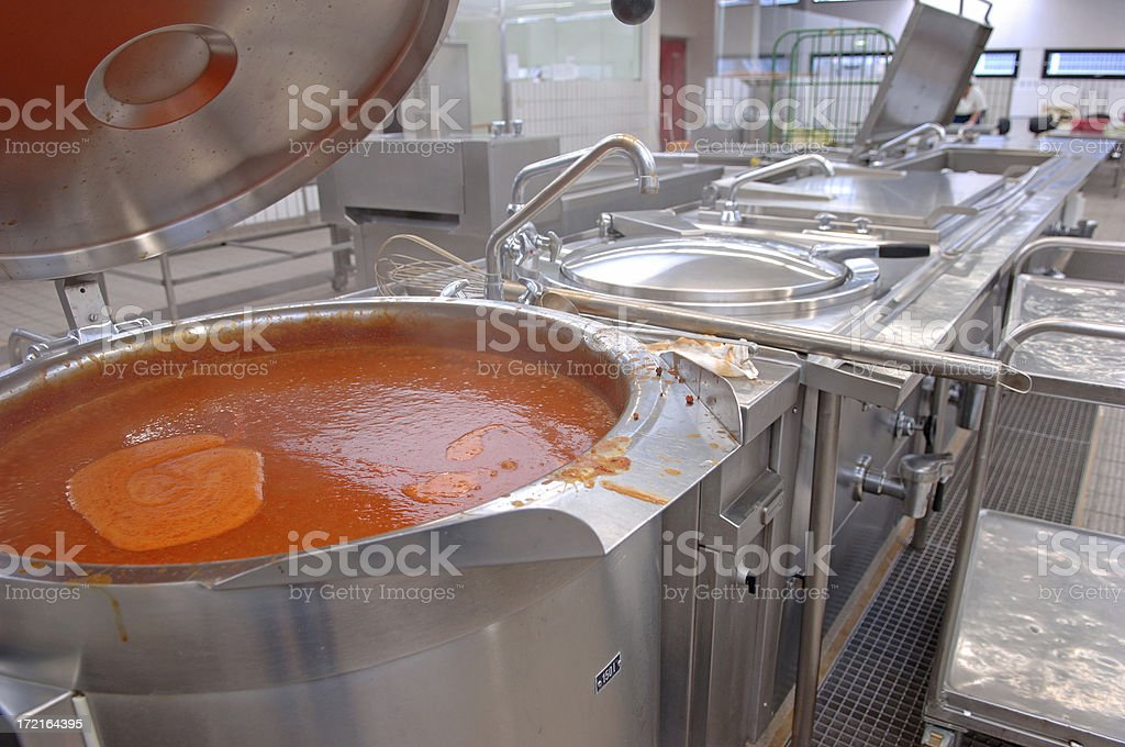 Canteen kitchen # 3 royalty-free stock photo