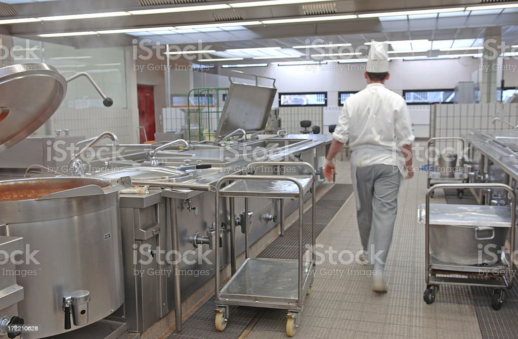 canteen kitchen # 2 royalty-free stock photo