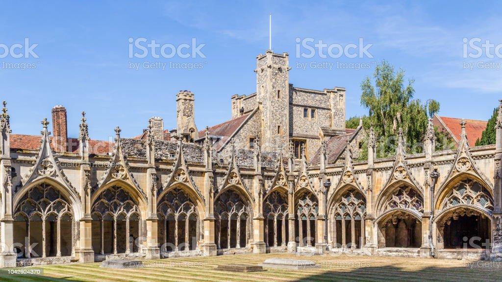 De kathedraal van Canterbury in Engeland foto
