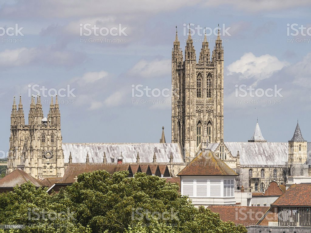 Canterbury Cathedral - Royalty-free Canterbury - England Stock Photo