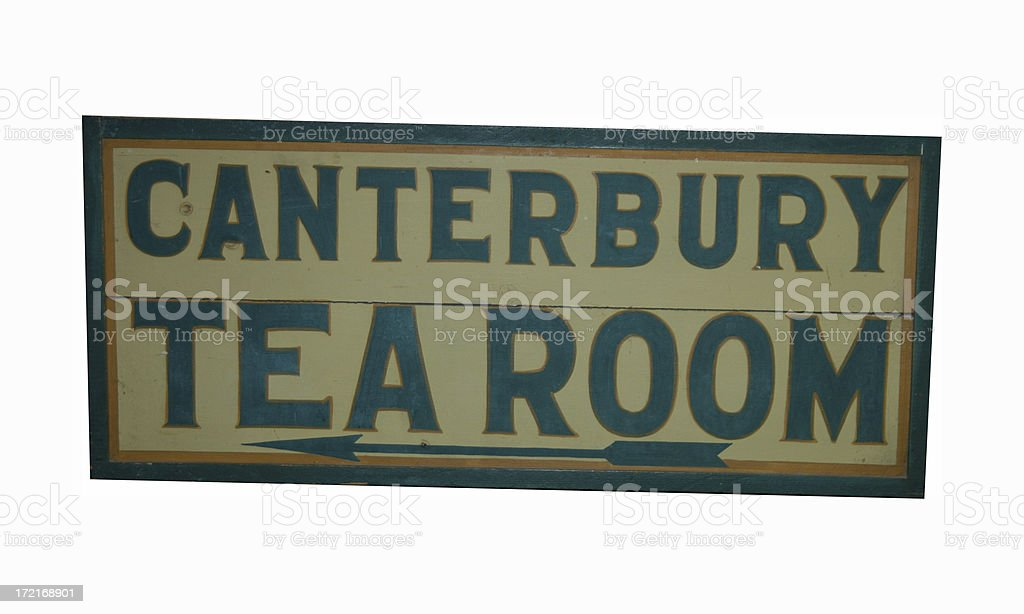 Canterbury Tea Room stock photo