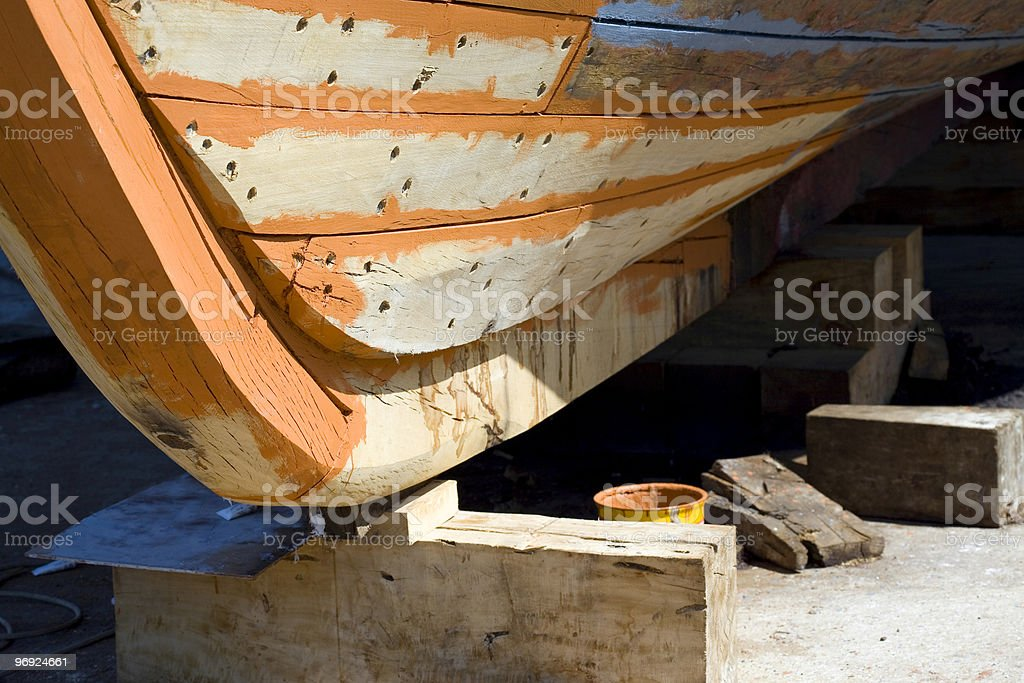 Cantiere navale royalty-free stock photo