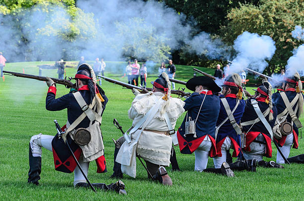 Best Revolutionary War Soldier Stock Photos, Pictures