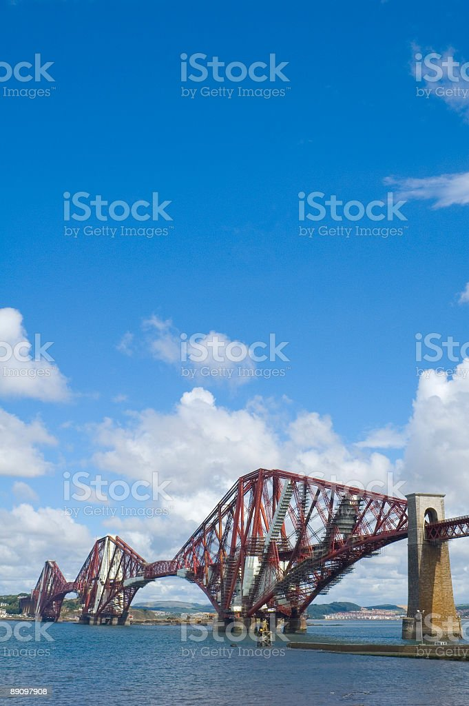 Cantilever bridge royalty-free stock photo