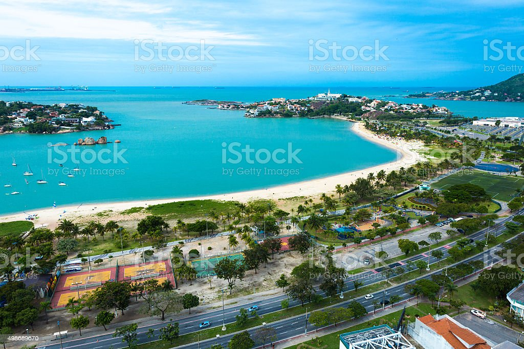 Canto Beach In Vitoria Espirito Santo Brazil Stock Photo