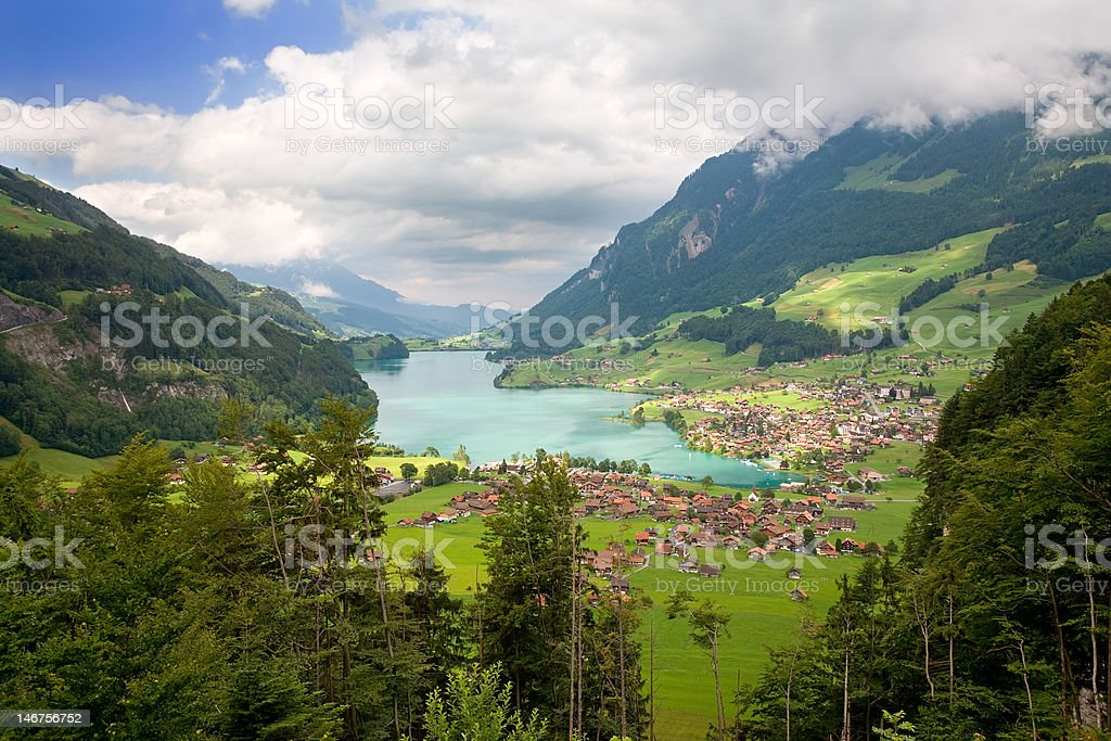 Canton of Fribourg, Switzerland stock photo