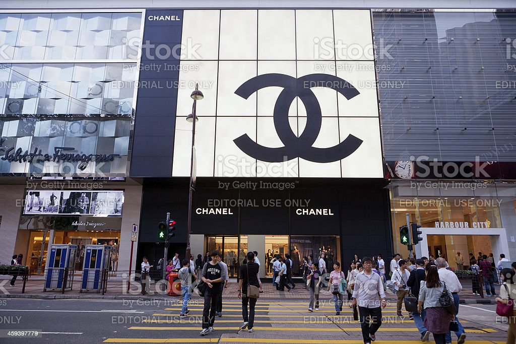 Canton Road, Tsim Sha Tsui, Hong Kong stock photo