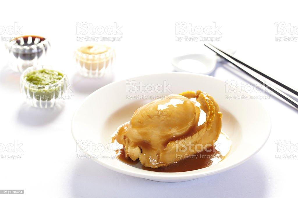 광둥 요리, 전복 스톡 사진