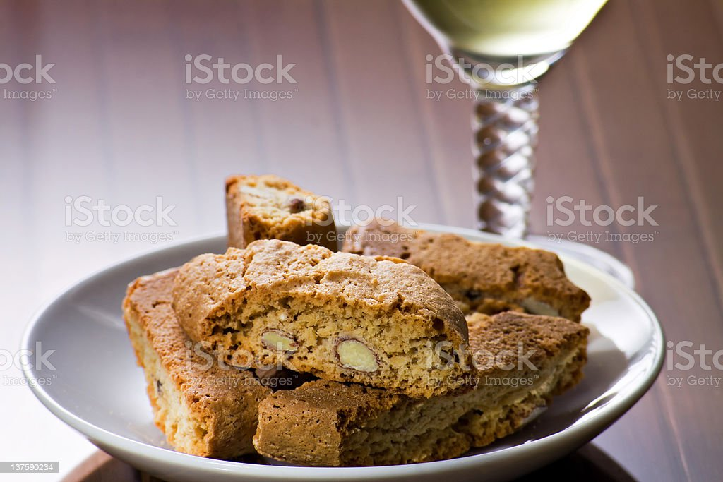 Cantucci from Tuscany (IT) royalty-free stock photo