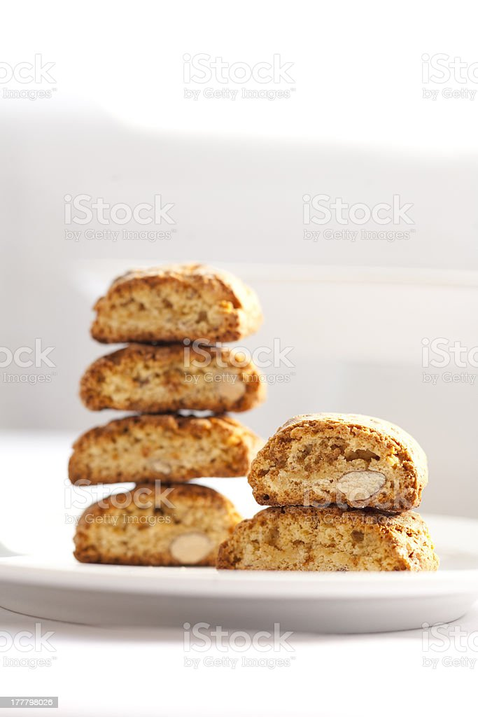 Cantuccini royalty-free stock photo