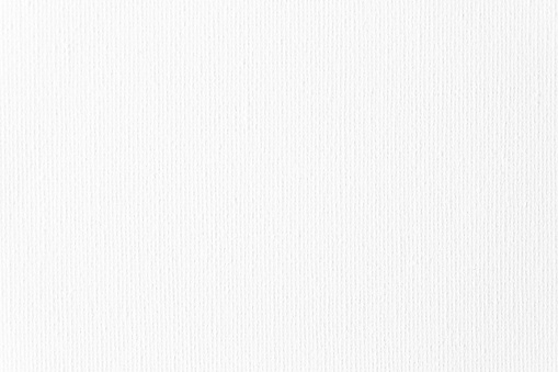 Canvas Background White Total Linen Cotton Art Texture Close-Up Copy Space Design template for presentation, flyer, card, poster, brochure, banner