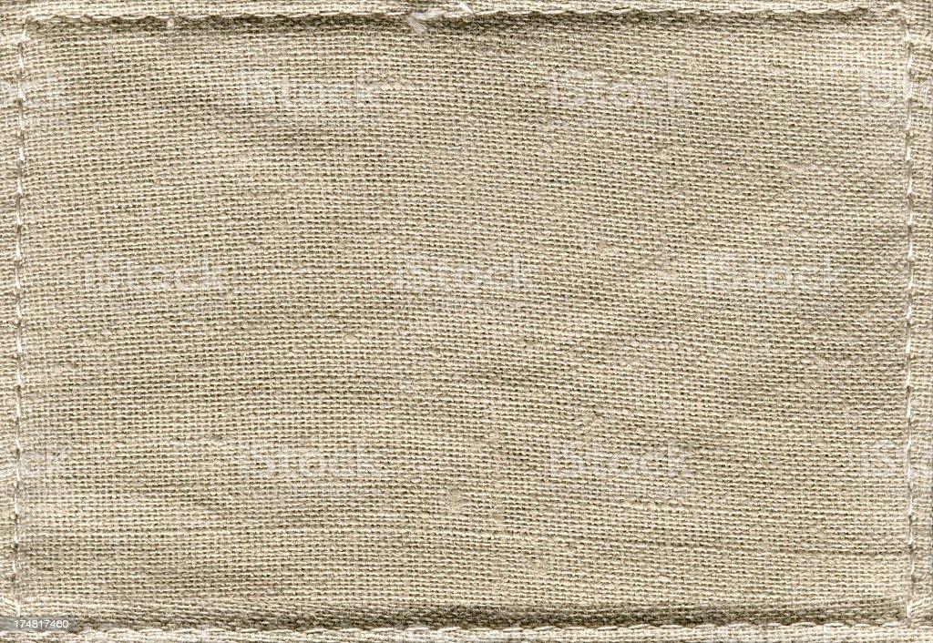 Canvas background textured stock photo