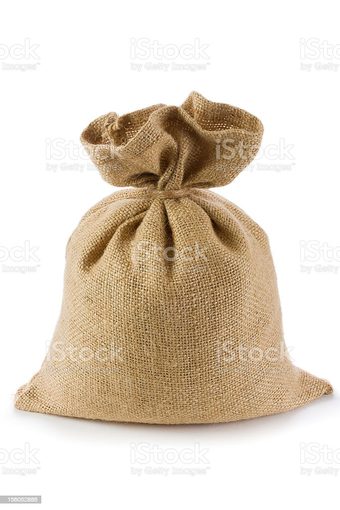 Canvas bag royalty-free stock photo