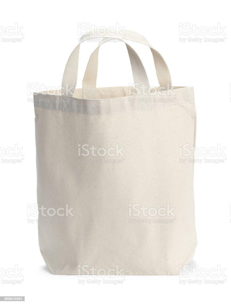 Bolsa de lona - foto de stock