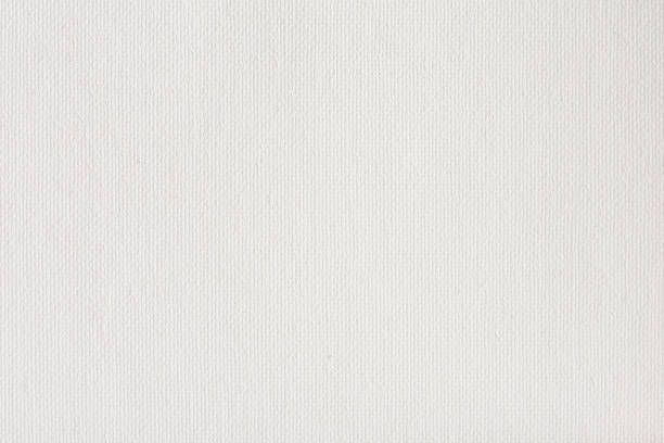 Canvas texture coated by white primer stock photo