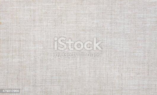 istock Canvas texture 479312955