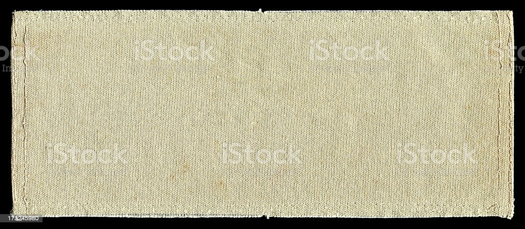 Canvas textured background with full frame isolated stock photo