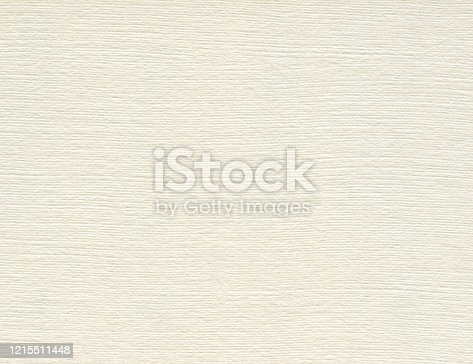 Texture of paper with embossed burlap surface