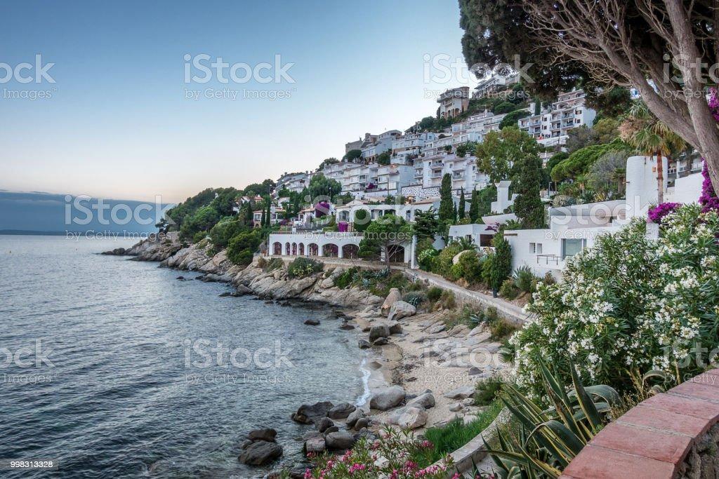 Canyelles Roses on Cape Creus stock photo