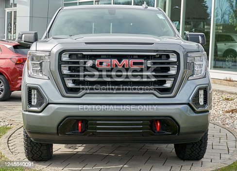 istock GMC Canyon AT4 General Motors car. 1248640091