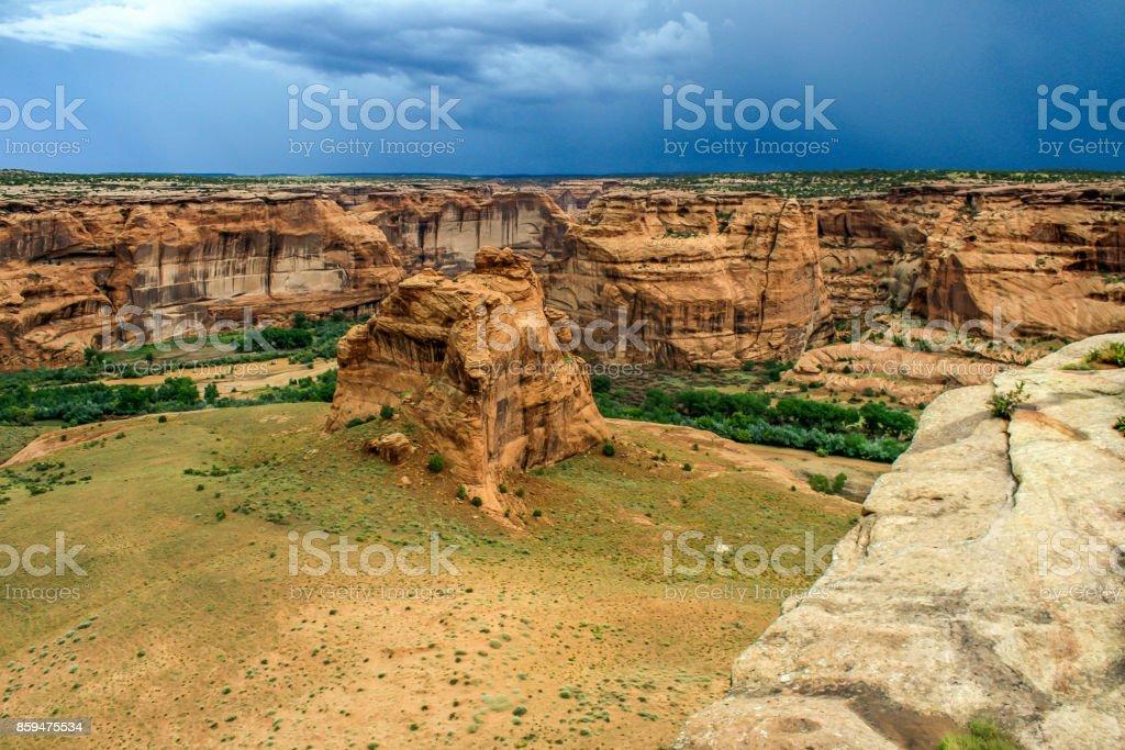 Canyon de Chelly National Monument - Arizona stock photo