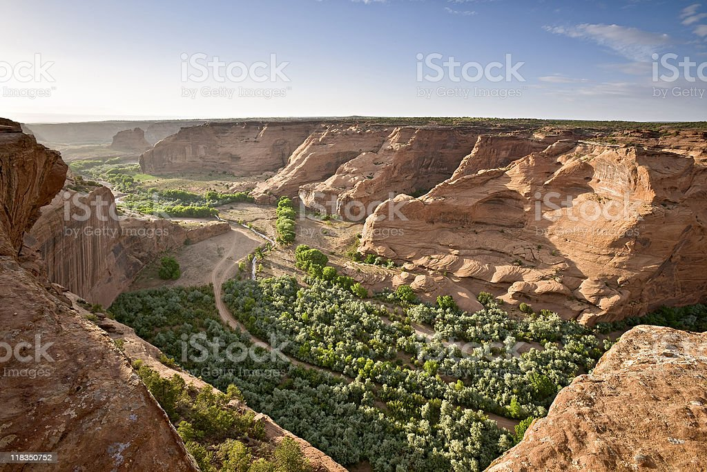 Canyon de Chelly National Monument stock photo