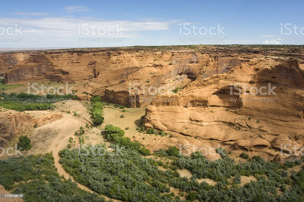 Canyon de Chelly royalty-free stock photo