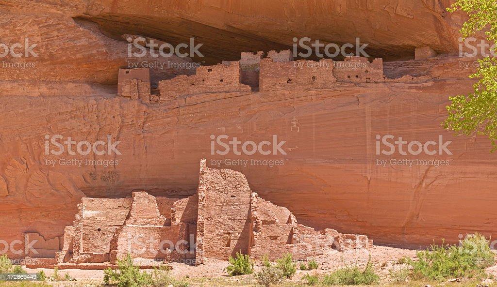 Canyon De Chelly's White House Panarama stock photo