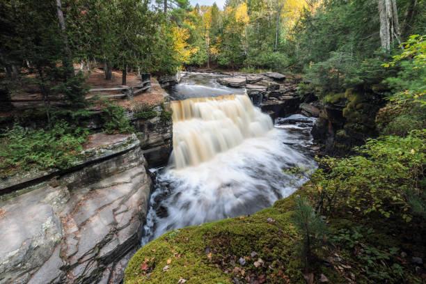 Canyon Falls in L'Anse Michigan, USA