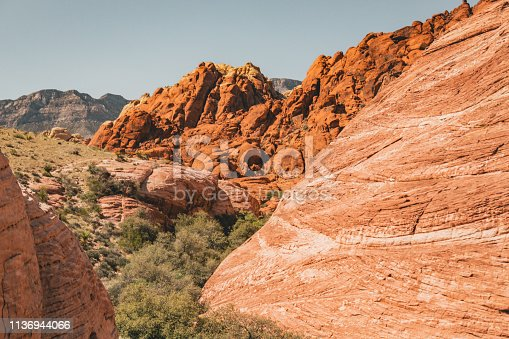 Canyon landscape at Red Rock Canyon National Conservation Area