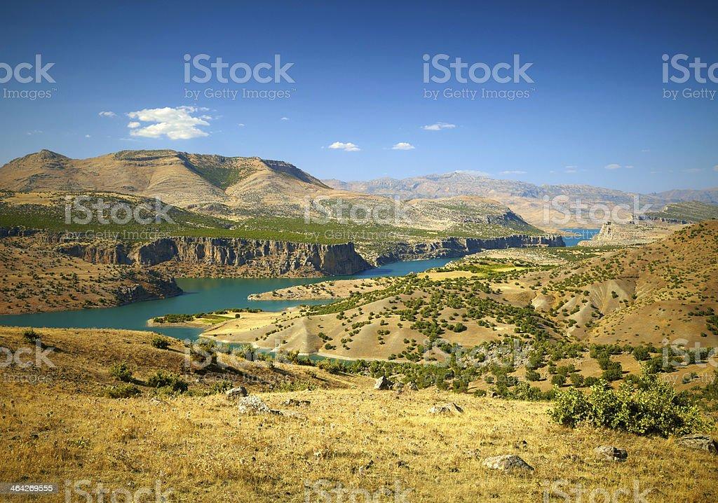 Cañón del río éufrates.   Turquía - foto de stock