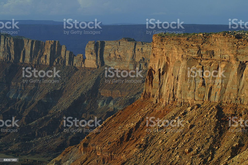 Canyon Rim stock photo