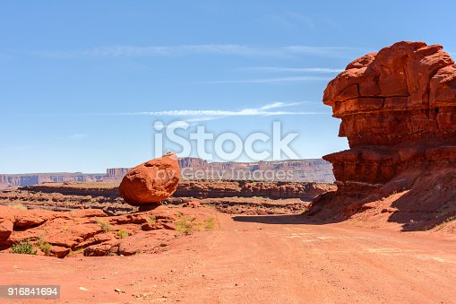 Canyon Road, Canyonlands National Park in Utah, United States