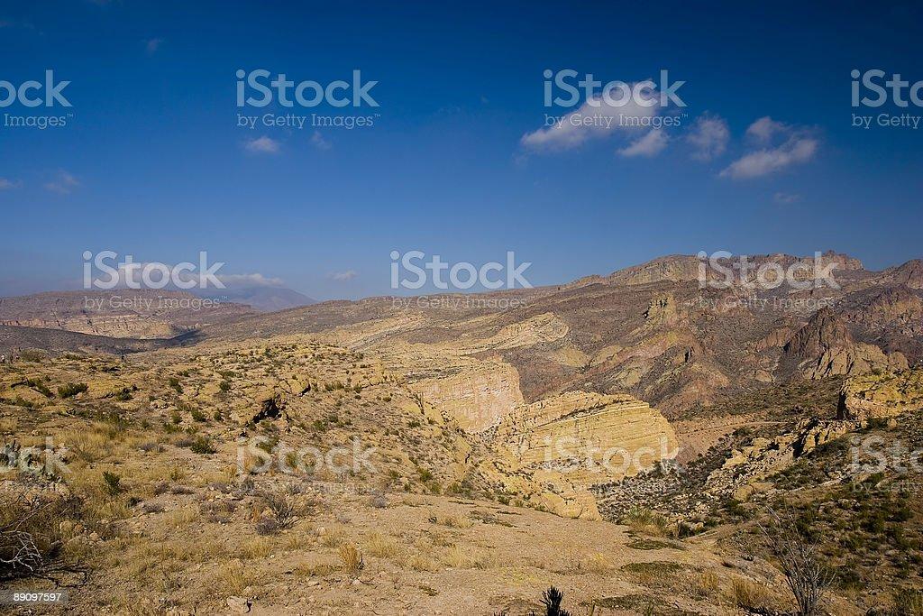 Canyon Road Lizenzfreies stock-foto