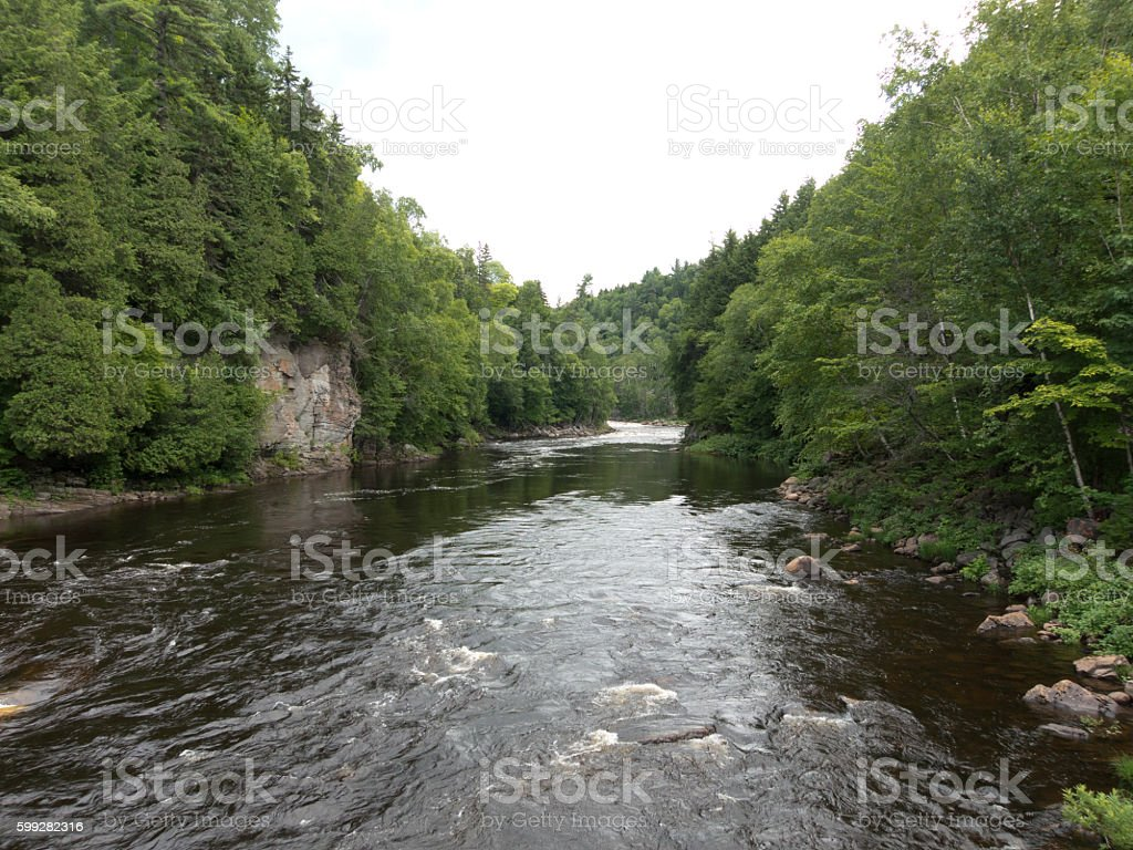 Canyon Sainte-Anne, Beaupre, Quebec, Canada - foto de stock